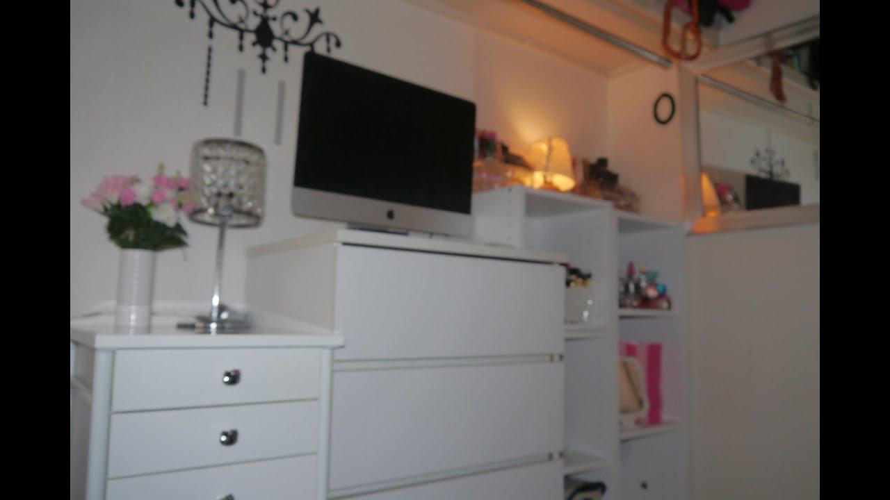 Te invito a conocer mi cuarto de maquillaje - Habitacion con tocador ...