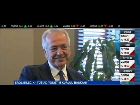 TÜSİAD Yönetim Kurulu Başkanı Erol Bilecik CNN Türk'te Günün Ekonomisi Programına Konuk Oldu