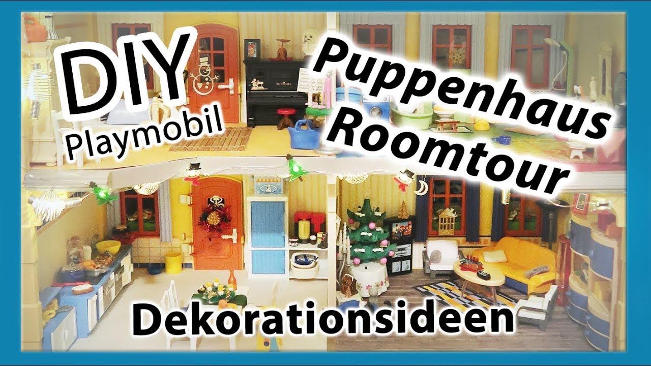 Tedi Weihnachtsdeko.Diy Playmobil Roomtour Puppenhaus Bastelideen Dekoration Weihnachtsdeko