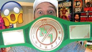 I AM WWE 24 7 CHAMPION!!