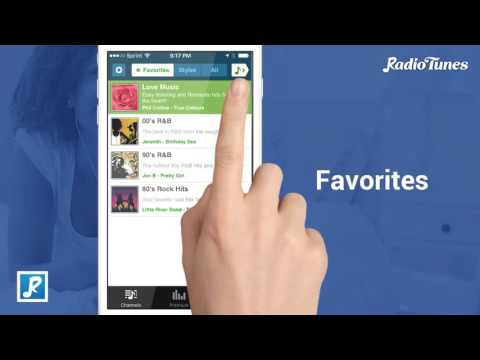 RadioTunes App for Android and iPhone