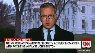 Trump replaces H.R. McMaster as national security adviser with John Bolton