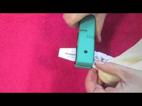 How To Apply Snappy Tags, Personalized Clothing Name Labels, From It's Mine!