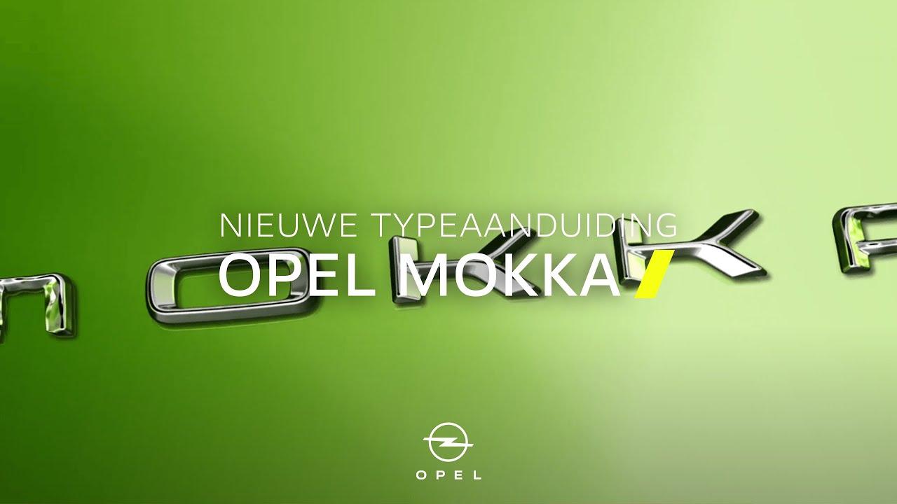 Opel Mokka | Nieuwe typeaanduiding