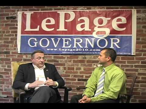 Paul LePage Interview 2 of 3