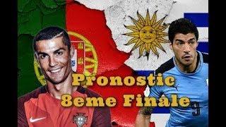 PRONOSTIC : URUGUAY 🇺🇾 VS PORTUGAL 🇵🇹 / RUSSIE 🇷🇺 VS ESPAGNE 🇪🇦 | 8EME FINALE COUPE DU MONDE 2018