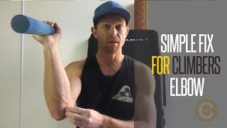 How to treat climbers elbow