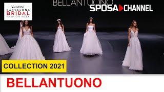 BELLANTUONO Collection 2021 - Valmont Barcelona Bridal Fashion Week 2020