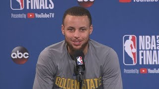 Stephen Curry Praises LeBron James Before Game 1 of the 2018 NBA Finals vs Cavaliers!