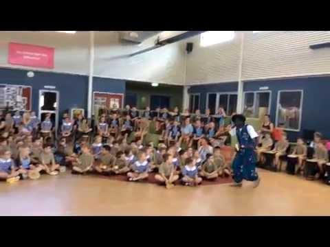 +African Drumming Workshops in Schools+