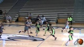 Victorville Bucket Squad D3 vs Hesperia Lighting NJB 1-30-16 Basketball