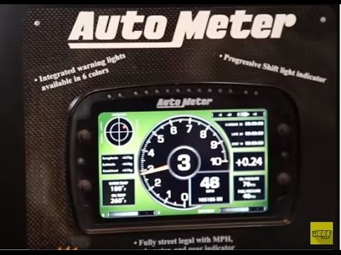 Auto Meter Lcd Competition Dash Gauges Racing Street