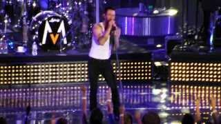 Adam Levine Of Maroon 5 Performing