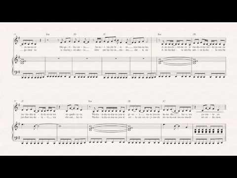 Violin  Again  YUI   Sheet Music, Chords, & Vocals
