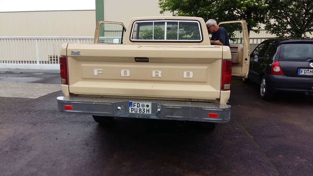 1983 ford f150 4x4