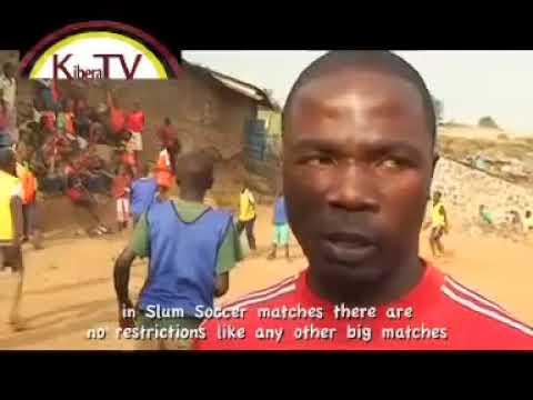Slum Soccer On Kibera Tv Teaser  KTV Web   High
