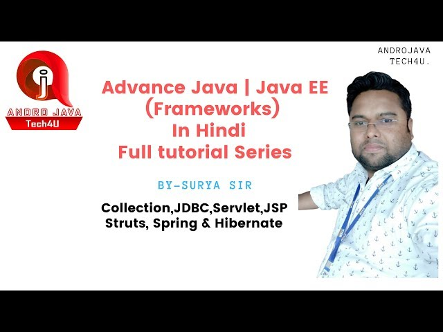 Jdbc | Sql Jdbc |  Why Jdbc | Database Connectivity  | Java Tutorial In Hindi -33