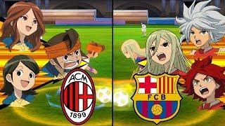 [Full HD 1080P] Inazuma Eleven UCL ~ Milan vs Barcelona ※Pokemon Anchor※
