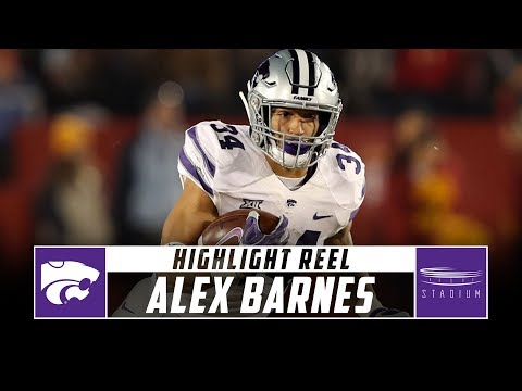 the latest 8a890 52416 Alex Barnes Kansas State Football Highlights - 2018 Season ...