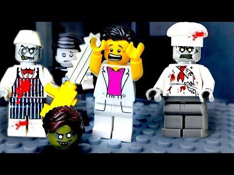 LEGO Мультики про ЗОМБИ ????♀️ ЛЕГО Зомби Апокалипсис ???? LEGO ZOMBIE HORROR
