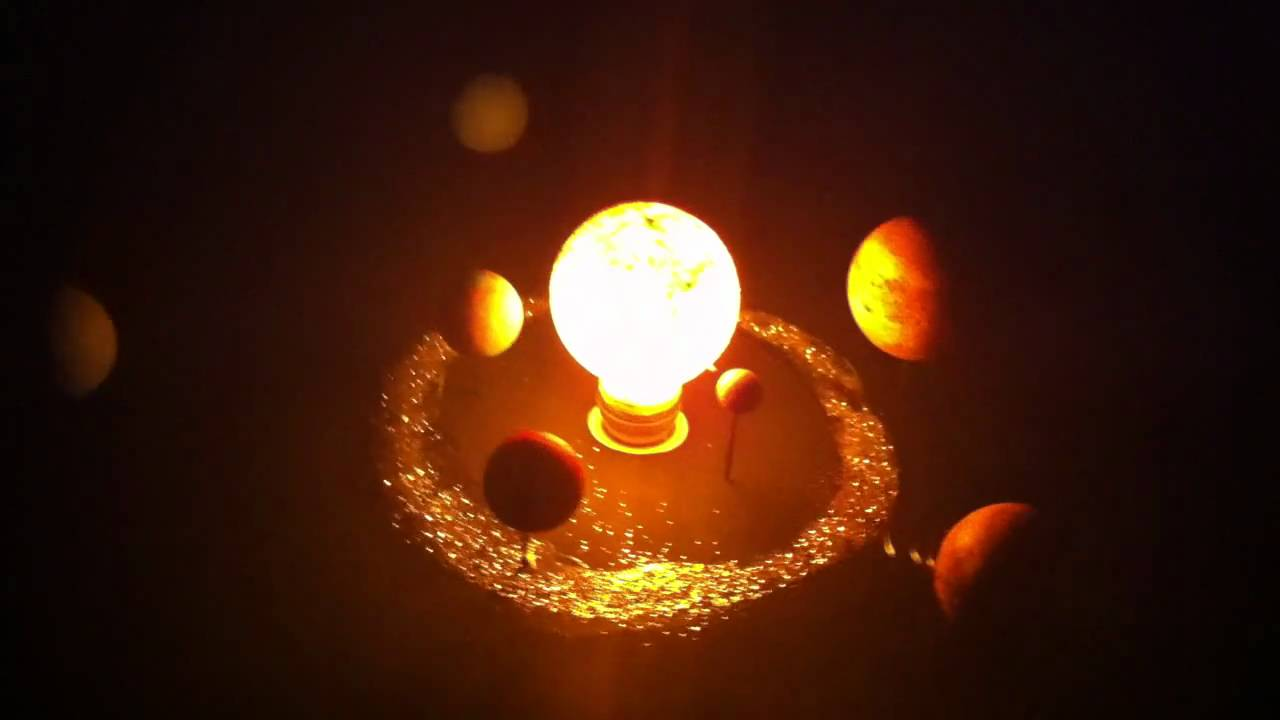 Maqueta Sistema Solar Doovi