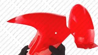 Пластик   VIPER STORM 2007   переднее крыло   (красный)   KOMATCU...