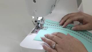 SINGER CONFIDENCE 7640 Sewing Machine - Selecting a Stitch
