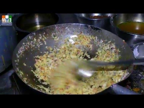 Flattened rice   Poha   Chiura   Beaten Rice   MUMBAI STREET FOOD   4K VIDEOS  