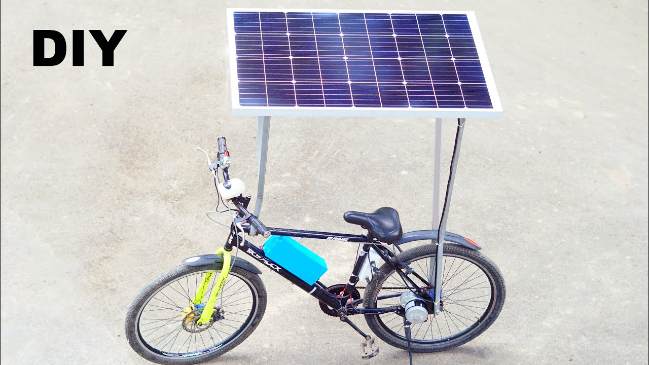 How to Make Solar Electric Bike
