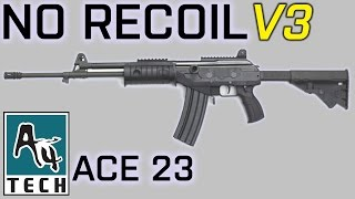 ACE 23 no recoil macro - BATTLEFIELD 4 [X7 Mouse]