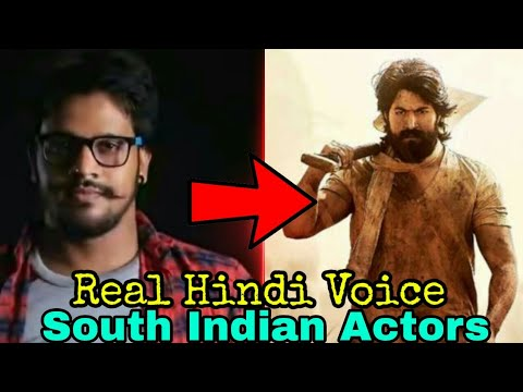 Top 5 Dubbing Artist of South Indian Actor |Real Voice Behind South Indian Superstar