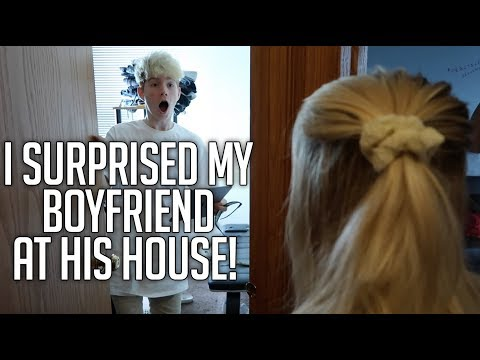 I SURPRISED MY BOYFRIEND AT HIS HOUSE! (LONG DISTANCE COUPLE) (SPEECHLESS REACTION)