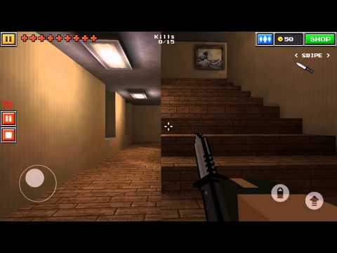 Pixel Gun 3D Multiplayer Glitch, Mafia Mansion