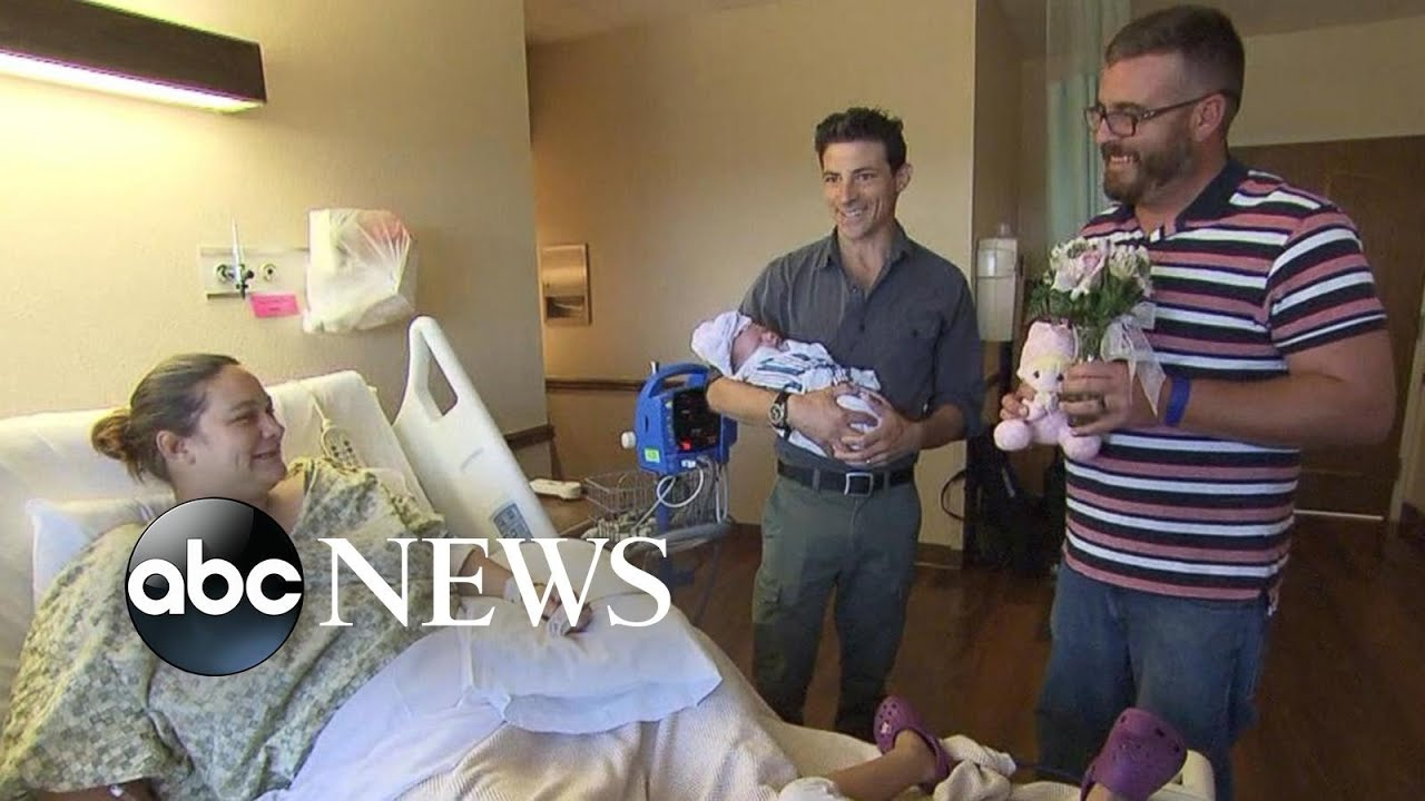 Woman who lost home in Harvey gives birth to baby girl