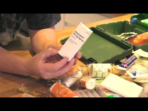 Home Made First Aid Kit