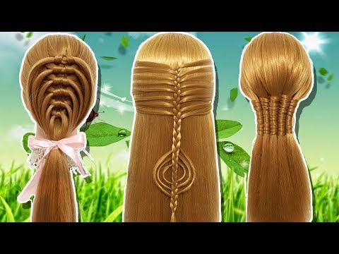 10 Easy Party hairstyle 2019 for girls| Hair Style Girl | hairstyles | Best Hairstyles for long hair thumbnail