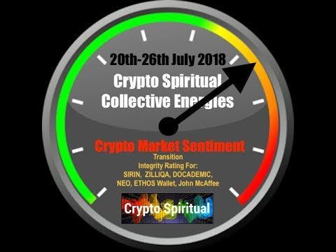 Crypto Energies 20th-26th July 2018 & Integrity Rating: SIRIN, CAMPUSCOIN, ZILLIQA, NEO, ETHOS