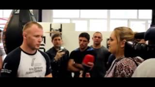 M-1 Challenge. Открытая тренировка Александра Шлеменко и бойцов М-1