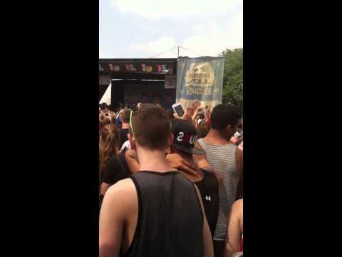 Bowling For Soup Vans Warped Tour 2014 7-13-14