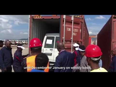 New progress on AddisAbaba-Djibouti railway container shipping!