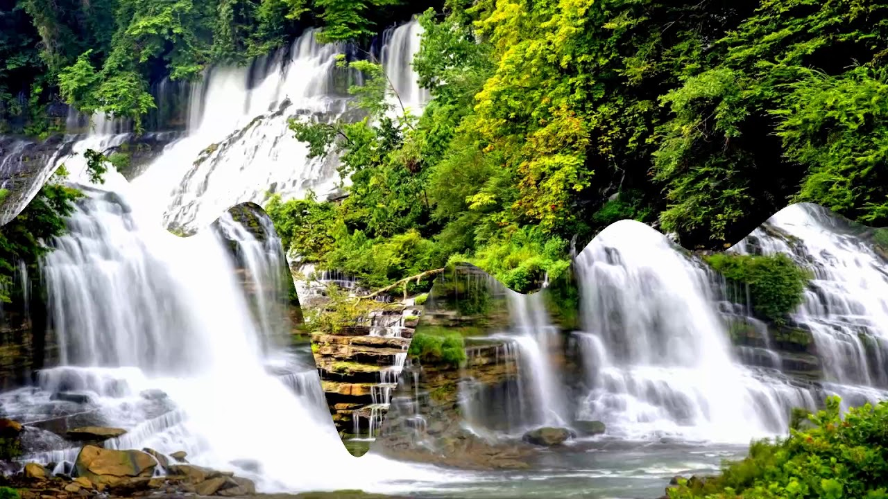 the most beautiful waterfalls in china  hd1080p