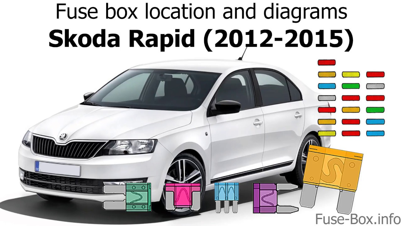 medium resolution of fuse box location and diagrams skoda rapid 2012 2015