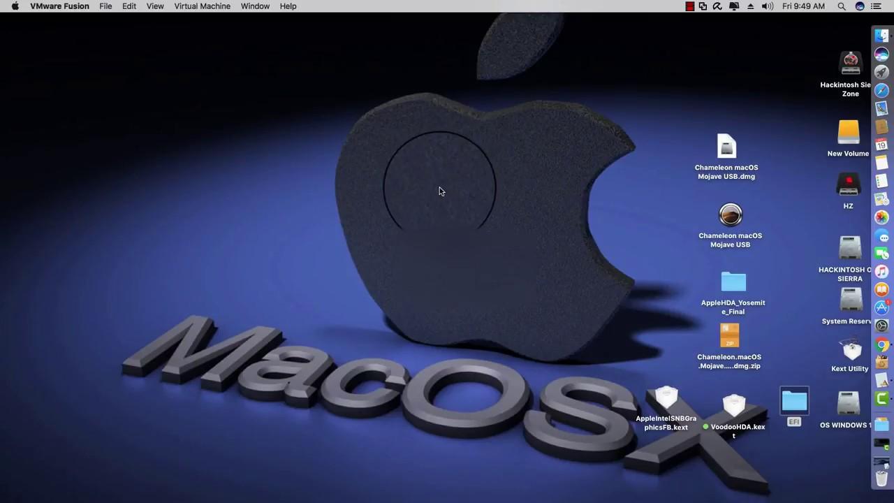 MacOS Mojave On VMware Fusion 11(MALAY)