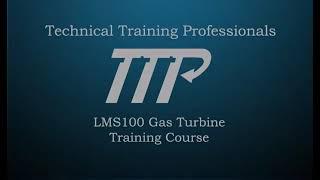 LMS100 Gas Turbine for Power Plant Training