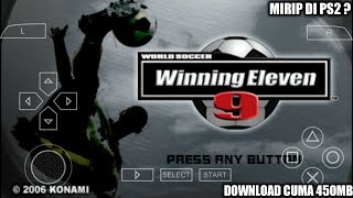 Cara Download Game World Soccer Winning Eleven 9 PPSSPP Android
