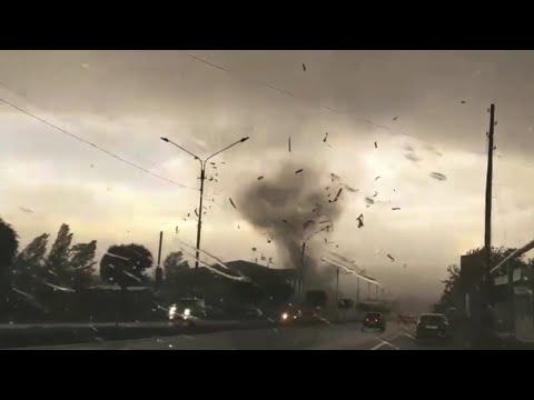 Ереван пострадал сразу от двух торнадо #Armenia #Yerevan #tornado