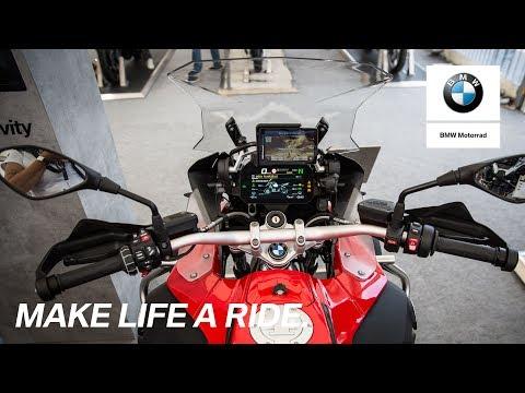 BMW Motorrad Days 2017: BMW Motorrad presents Connectivity