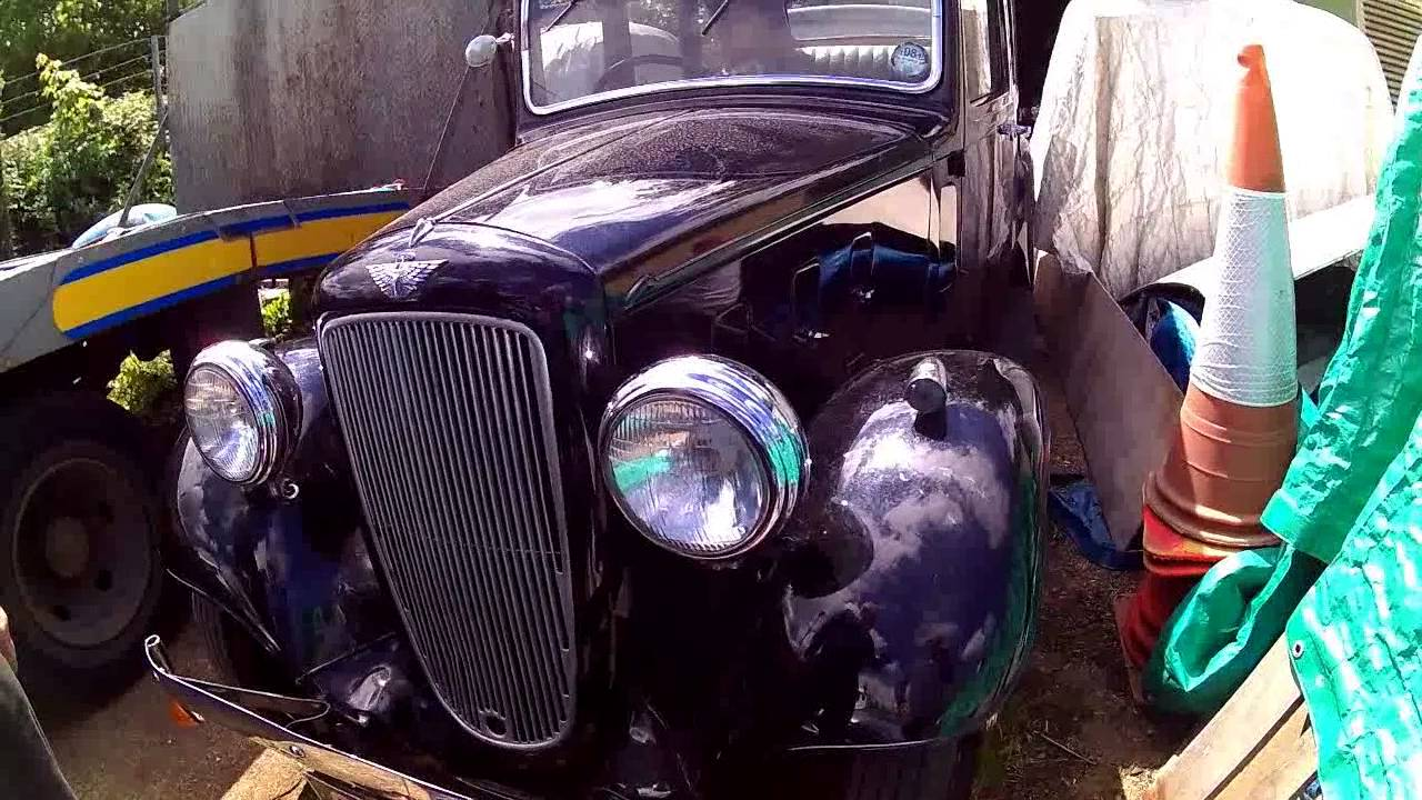 three beautiful old classic cars ! Austin Rolls and Morris - YouTube