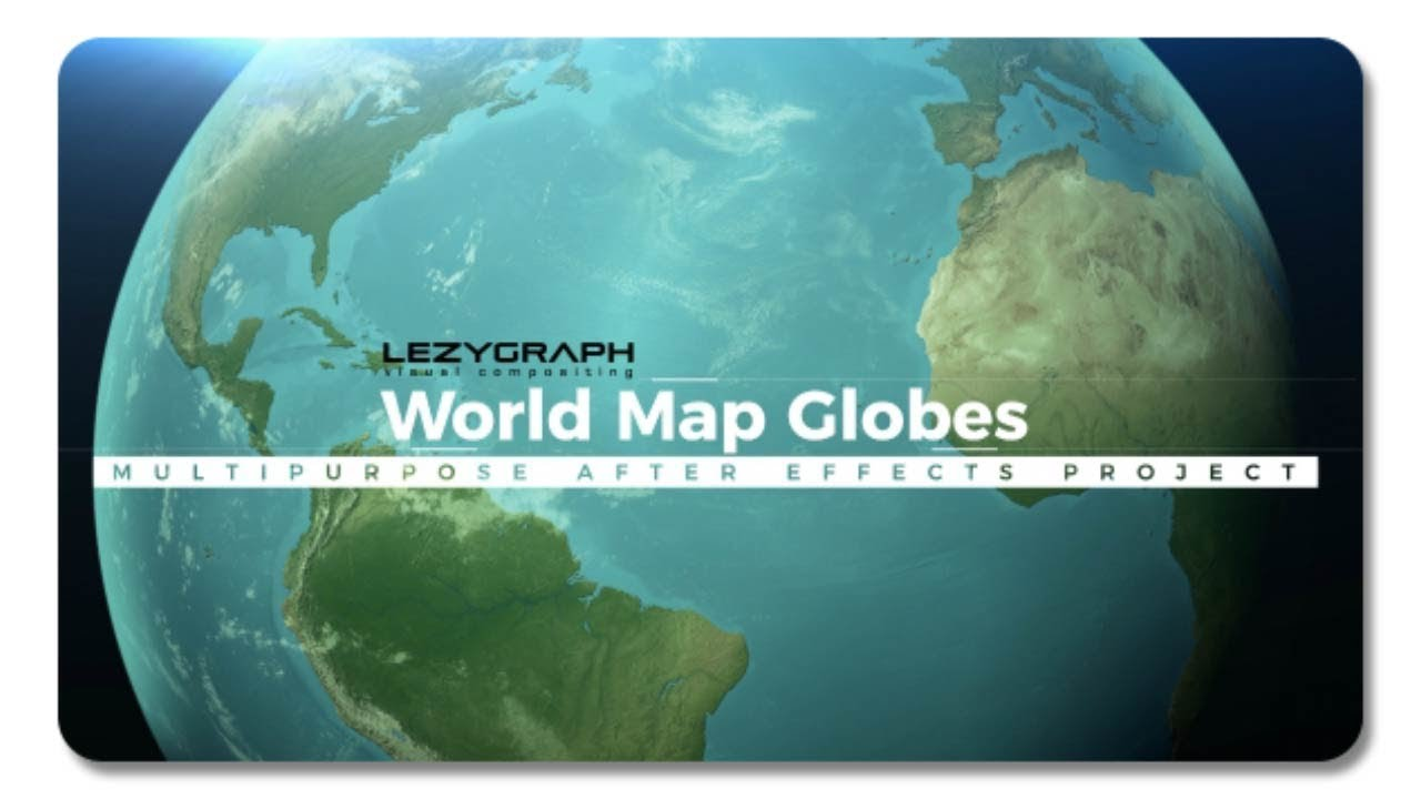 World map globes 20709289 after effects template youtube world map globes 20709289 after effects template gumiabroncs Image collections