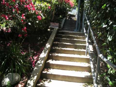 Laurel And Hardy Piano Staircase In Los Angeles.